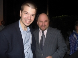 With Jason Alexander