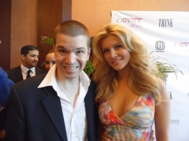 With Supermodel Joanna Krupa
