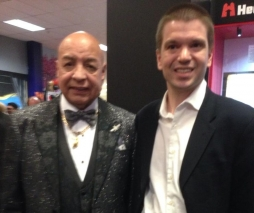 With Hall of Fame Boxing Referee Joe Cortez