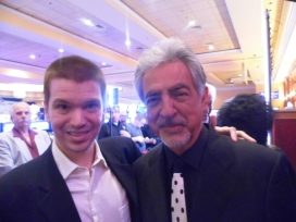 With Actor Joe Mantegna