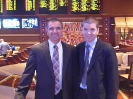 With John Avello at Wynn Las Vegas