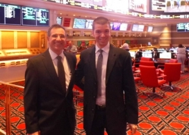 With Sportsbook Manager John Avello at Wynn Las Vegas