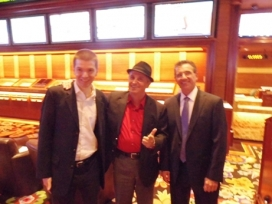 With Art Davie and John Avello at Wynn Las Vegas