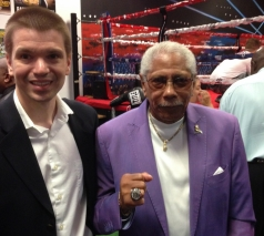 With Legendary Boxing Trainer Kenny Adams