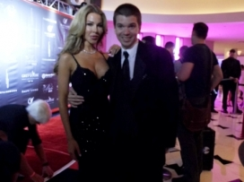 With Lisa Hochstein of The Real Housewives of Miami