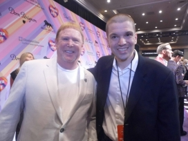 With Oakland Raiders Owner Mark Davis