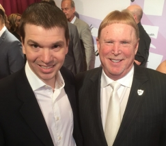With Las Vegas Raiders owner Mark Davis