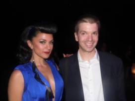 With Las Vegas Burlesque Performer and Singer Melody Sweets