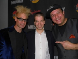 With Murray The Magician and Lefty at their Las Vegas Show at the Tropicana Hotel and Casino