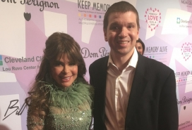 With Paula Abdul at the Power of Love Gala in Las Vegas