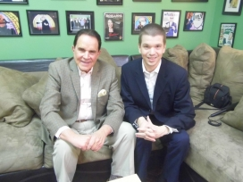 With Rich Little