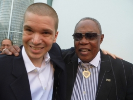 With Soul Man Sam Moore