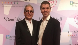With master Jeweler Steven Lagos at the Power of Love Gala