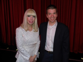 With Lady Gaga Impersonator Tierney Allen