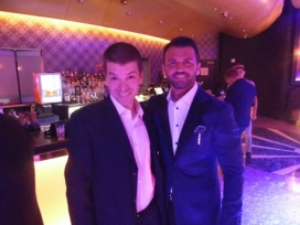 With Tony Dovolani of Dancing with the Stars