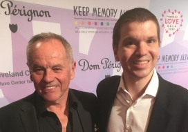 Chris Yandek with Wolfgang Puck at the Power of Love Gala in Las Vegas