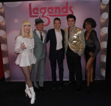 With Cast Members of the Las Vegas Show Legends in Concert