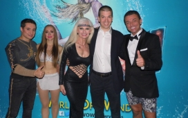 With the Cast of World of Wonder at the Rio in Las Vegas