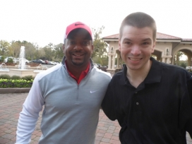 With Actor Alfonso Ribeiro