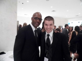 With Boxer Bernard Hopkins