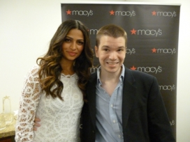 With Camila Alves McConaughey