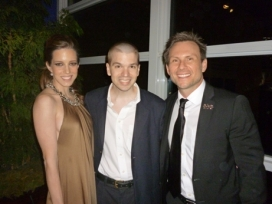 With Christian Slater and Brittany Lopez