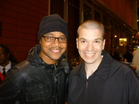 With Cuba Gooding Jr.