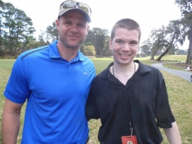 With Heisman Trophy winner Danny Wuerffel
