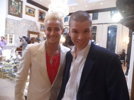 With Frankie Grande