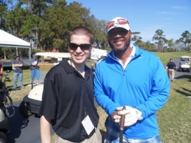 With MLB Star Gary Sheffield