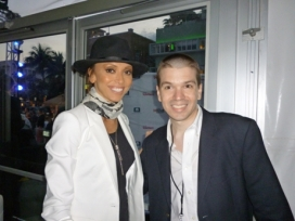 With Giuliana Rancic