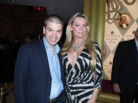 With Queen of Versailles Jackie Siegel