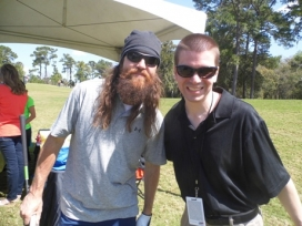 With Jason Robertson of Ducky Dynasty