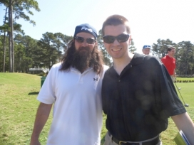 With Jep Robertson of Duck Dynasty