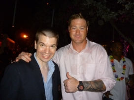 With NFL Great Jeremy Shockey