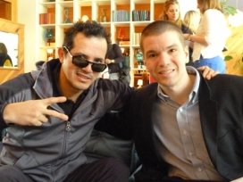 With John Leguizamo