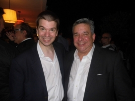 With Former Miami Beach Commissioner Jorge Exposito