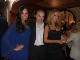 With Karent Sierra and Lisa Hochstein of The Real Housewives of Miami