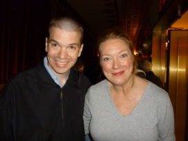 With Actress Kristin Nielsen