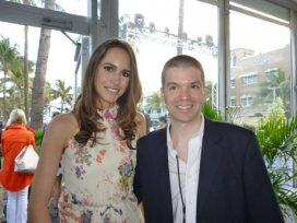 With Model and TV Presenter Louise Roe
