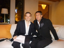 With Entrepreneur and Philanthropist Michael Capponi