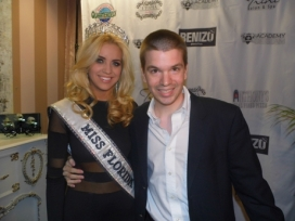 With Miss Florida USA 2013 Michelle Aguirre