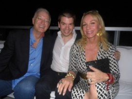 With Attorney Roy Black and Real Housewives of Miami Star Lea Black