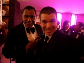 With Sammy Sosa