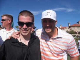 With Tim Tebow