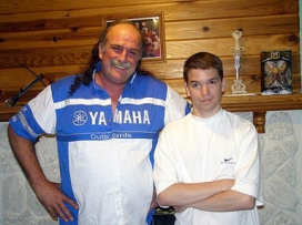 With Jake The Snake Roberts