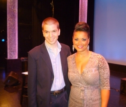 With Singer Kimberley Locke of American Idol Fame