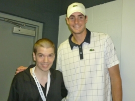 With Tennis Star Jon Isner