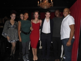 With The Cabaret South Beach Cast